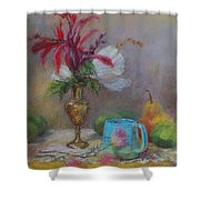 Flowers  Shower Curtain by Nancy Stutes