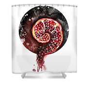 Fluidity 11 - Elena Yakubovich Shower Curtain by Elena Yakubovich
