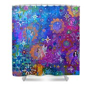 Fly Away To Fairy Day Shower Curtain by The Art With A Heart By Charlotte Phillips