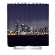 Fog City San Francisco Shower Curtain by Mike Reid