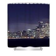 Fog City San Francisco2 Shower Curtain by Mike Reid