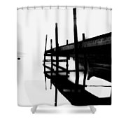 Foggy View Shower Curtain by Erik Brede