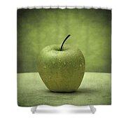 Forbidden Fruit Shower Curtain by Taylan Soyturk