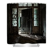 Foreboding Doorway Shower Curtain by Gary Heller