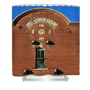 Forgotten Brewery Shower Curtain by Luther   Fine Art