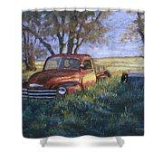 Forgotten But Still Good Shower Curtain by Jerry McElroy
