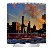 Foundry Shower Curtain by Benjamin Yeager
