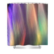 Fountains Of Color Shower Curtain by James Eddy