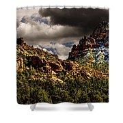 Four Seasons Shower Curtain by Jon Burch Photography