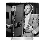Frank Sinatra Shower Curtain by Mountain Dreams