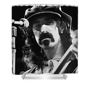 Frank Zappa - Watercolor Shower Curtain by Joann Vitali