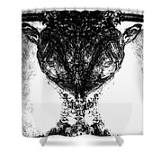 Fred Shower Curtain by Yevgeni Kacnelson