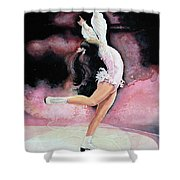 Free Spirit Shower Curtain by Hanne Lore Koehler
