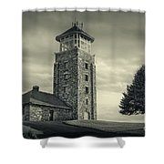 Free The Dream Shower Curtain by Evelina Kremsdorf