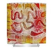 Free Will II Shower Curtain by Yael VanGruber
