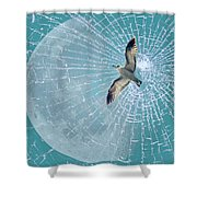 Freedom Shower Curtain by Heike Hultsch