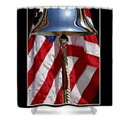 Freedom Inspirational Quote Shower Curtain by Stocktrek Images