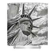 Freedom Shower Curtain by Sarah Batalka