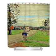Fresh Eggs Shower Curtain by Deborah Benoit