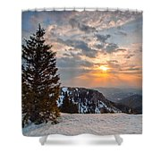 Fresh Morning Shower Curtain by Davorin Mance