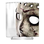 Friday The 13th Shower Curtain by Benjamin Yeager