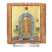 Front Door 1 Shower Curtain by Debbie DeWitt