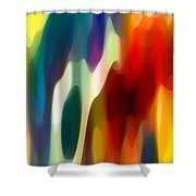 Fury 1 Shower Curtain by Amy Vangsgard