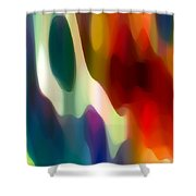 Fury 2 Shower Curtain by Amy Vangsgard