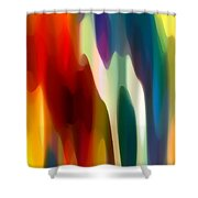 Fury 3 Shower Curtain by Amy Vangsgard