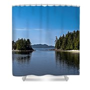 Fury Cove Shower Curtain by Robert Bales