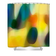 Fury Rain 2 Shower Curtain by Amy Vangsgard