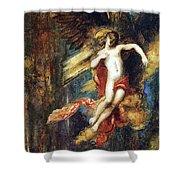 Ganymede Shower Curtain by Gustave Moreau