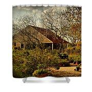 Garden Fantasy Shower Curtain by Linda Unger