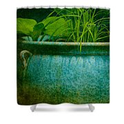 Gardenscape Shower Curtain by Amy Weiss