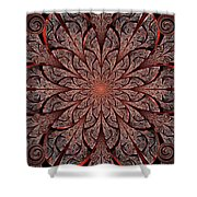 Gates Of Fire Shower Curtain by Anastasiya Malakhova
