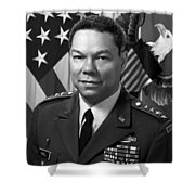 General Colin Powell Shower Curtain by War Is Hell Store