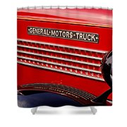 General Motors Truck Shower Curtain by Thomas Young