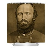 General Stonewall Jackson 1871 Shower Curtain by Anonymous