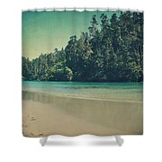 Gentle Musings Shower Curtain by Laurie Search