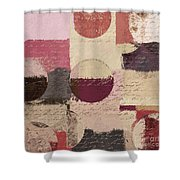 Geomix 01 - C19a2sp5ct1a Shower Curtain by Variance Collections