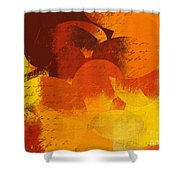 Geomix 05 - 01at02 Shower Curtain by Variance Collections
