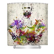 Georges St-pierre Shower Curtain by Aged Pixel