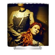 German Mannequins Shower Curtain by Halifax Photography John Malone