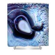 Glass Eye Shower Curtain by Omaste Witkowski