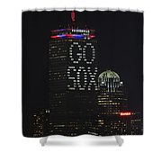 Go Boston Red Sox Shower Curtain by Juergen Roth