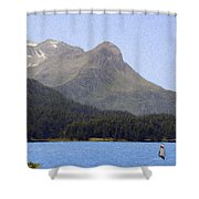 Going Where The Wind Blows Shower Curtain by Jeff Kolker