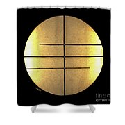 Golden Sun Shower Curtain by Cheryl Young