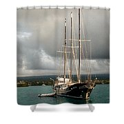 Gone But Not Forgotten Shower Curtain by William Beuther