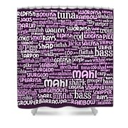 Gone Fishing 20130622bwma Shower Curtain by Wingsdomain Art and Photography