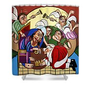 Good And Faithful Servant Shower Curtain by Anthony Falbo